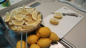 レモンサワー用のレモン氷